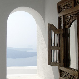 Santorini Window